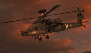 100% pose-able AH-64 Apache by bstylez