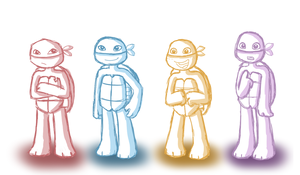 Turtle Tots by MaryThaCake