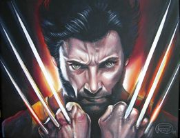 Wolverine by Queenofchaoss