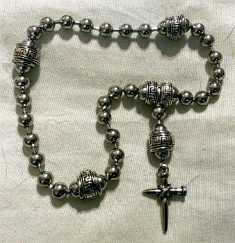 Anglican Rosary, 1/4 bead chain by Spielorjh