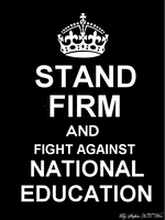 STAND FIRM AND FIGHT AGAINST NATIONAL EDUCATION by HoshitoAkatsuki