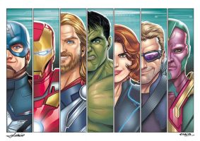 Avengers by Mfiorito