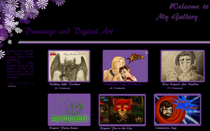Purple Power Gallery CSS by JeffrettaLyn