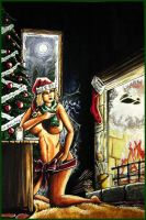 Pin up Chrismas by Granamir by Granamir