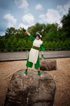 Toph Bei Fong - I am here! by TophWei