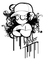 sticker bleeder by ektoblood