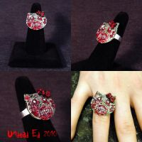 Rot Ring Hello Kitty Zombie by Undead-Art
