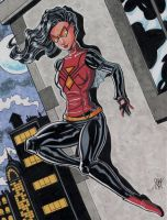 Spiderwoman by calslayton