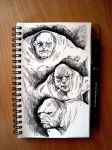 Three Cave Trolls by LukaCakic
