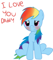 I love you Daddy by soundwave023