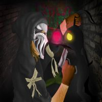 Faceless V Heartless (Redone) by CavemanBoo