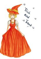 rin kagamine: trick and treat by oOkikiOo