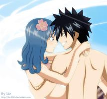 Gray x Juvia: Our summer by Liz-050