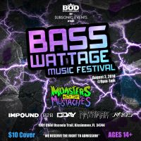 Bass Wattage Flyer by replayexe
