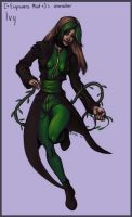Engravers Mint 's XMen OC Ivy by Sebyth