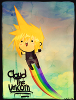 Cloud the Unicorn by The-EverLasting-Ash