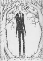 The Slender Man by NexReaper