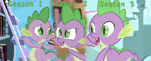 Spike: Then and Now by WarriorSparrow