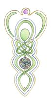 Goddess Knotwork by Spiralpathdesigns