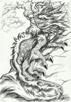 A chinese Dragon by Mimy92Sonadow