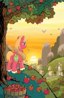 My Little Pony #9 B Cover by TonyFleecs