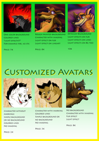 Commission ID chart about avatars and icons by StanHoneyThief