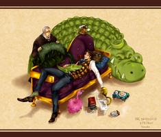 One piece : Crocodile by eyekonoha