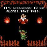 It's Dangerous to go Alone! by likelikes