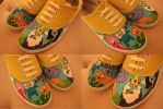 Adventure Time shoes by karka17