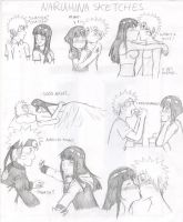 Naruhina Sketches by shock777
