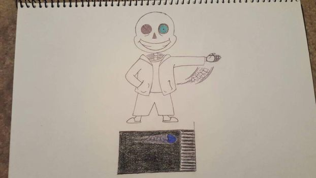 Spooky, Scary, Skele-Sans by ContraMuffin