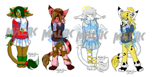 Winter Adopts Set 2 [Closed] by Megane--Sama