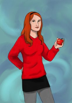 DW: Amy Pond by nimtaril