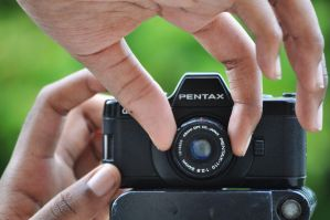 Little Little Pentax by sundayykota