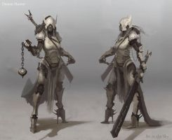 Demon Hunter Armour 1 by Bri-in-the-Sky