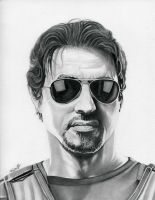 Sylvester Stallone  The Expendables by TheNightGallery