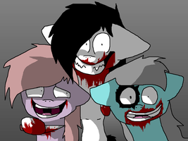 Jeff the killer by Awinage