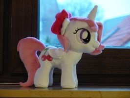 OC Pony Cherry (Filly) Plushie by navkaze