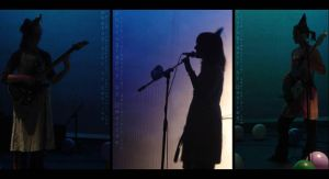 GSD .:On Stage:. Silhouettes by arwenpotter
