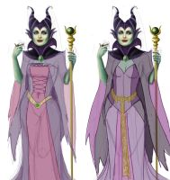 Maleficent WIP 4 by Spi-ritual-ity