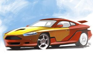 Concept car in color by EJ-Su