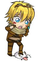 League of Legends- Chibi Ezreal by KittyConQueso