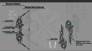Monster Hunter [Bladed Bow] by BlazingCobalt
