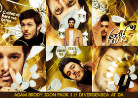 Adam Brody Icon Pack 1 by divergensea
