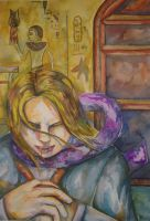 Lestat in watercolor by Esdras78
