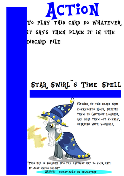 My little Fluxx - Star Swirls Time Spell by Jemrol