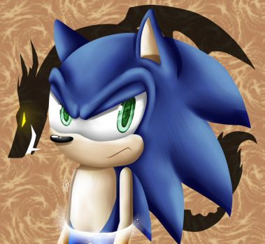 Discorded Sonic by InspiredPixels