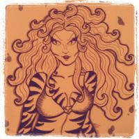 Tigera Commission Fall 2010 by MicheleWitchipoo