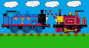 Love on the Magic Railway by sodormatchmaker