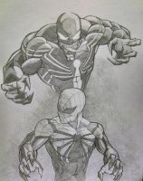 Superior Spider-Man/Venom - Thumbprint series #1 by BradAbdul